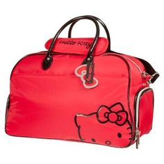 Hello Kitty Diva Collection Duffel Bag - This cute, stylish Hello Kitty duffle bag is the prefect way to hold all of your belongings for every golf outing. Lowest Prices on Hello Kitty Lifestyle at Golf Discount Hello Kitty Suitcase, Hello Kitty Gifts, Hello Kitty House, Hello Kitty Bag, Hello Kitty Items, Hello Kitty Handbags, Hello Kitty Merchandise, Hello Kitty Collection, Sanrio Characters