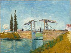 Vincent van Gogh (Groot Zundert 1853-1890 Auvers-sur-Oise): The Bridge at Arles, 1888. Oil on canvas, 49.5 x 64.5 cm. Acquired 1911. WRM 1197. Photo: Rheinisches Bildarchiv Köln