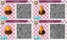 Fall dress QR code