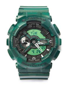 G-Shock by Casio - GA-110 Metallic Camouflage Watch