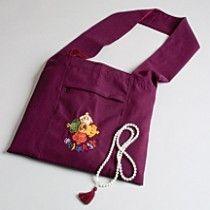Ziji - Tibetan Lama Bag, $28.50 (http://www.ziji.com/products/meditation-supplies/meditation-clothing/tibetan-lama-bag/)