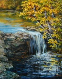 Bailey Lake Spillway Painting