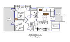 Minicottage tiny house on wheels plans free