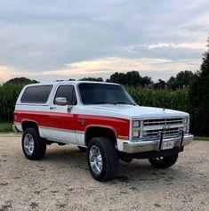 Suv Trucks, Lifted Ford Trucks, Cool Trucks, Chevy Blazer K5, K5 Blazer, C10 Chevy Truck, Chevrolet Trucks, Gmc 4x4, Chevy Classic