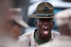 san antonio marine recruiting  | Sgt. Antonio J. Curry, a drill instructor aboard Marine Corps Recruit ...
