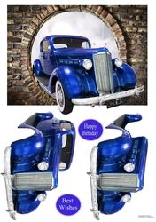 Who wouldn& want to drive this lovely old car. Decoupage the car Decoupage, Soap Packaging, Card Maker, Card Designs, Old Cars, Vintage Cars, Cute Pictures, Men's Cards, Craft