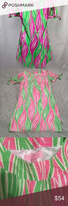 Lilly Pulitzer silk shift This Lilly shift is 100% silk and SO precious! Lilly Pulitzer Dresses