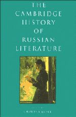Cambridge history of Russian literature [electronic resource]