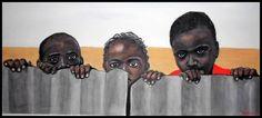 """# 15 (Precio 520 €)  ---  LÁMINA: 785 X 460  ÁREA PINTADA: 690 X 303   ---  Serie """"África""""  ---  """"somos felices por lo que perseguimos no por lo que realmente tenemos"""".  ---  Cuadros de Ágreda  ---  Marchando Arte  by Carmen Nikol  ---  marchando.arte@gmail.com"""