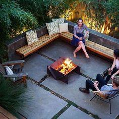 #backyardvibes #chizavibes #stahlfirepit