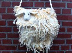 Needle Felting, Sheep, Van, Textiles, Christmas Ornaments, Holiday Decor, Felt, Objects, Bags