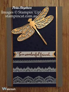 Stampin' Up! Dragonfly Dreams detailed thinlit