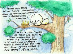 MISI - Parábola del grano de mostaza by Miguel Redondo.