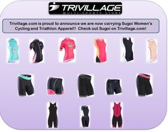 Sugoi Women's Cycling & Triathlon Apparel @ Trivillage.com