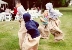 Photo: Eden Photography // Featured: The Knot Blog ... definitely for the adults.  Would be hilarious to have this on the beach.