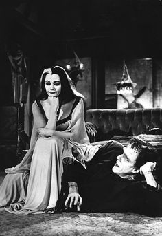 "vintagegal: ""The Munsters, 1960s """