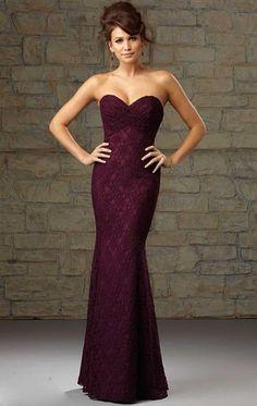 Perfect Long Purple Bridesmaid Dress BNNCC0036-Bridesmaid UK