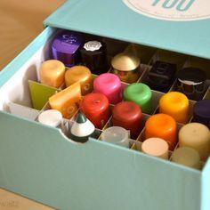 Douglas Box Inlet DIY Box-Abteilungen - Beautybox (Glossbox, Douglas Box of Beauty, Beautesse Beauty Box), Upcycling, Lippenstift, Lipstick, Lip Crayon, Labello  http://viennafashionwaltz.wordpress.com/2013/08/26/diy-box-abteilungen/