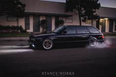 The Castro Motorsport 480-Horsepower Turbocharged E34 Wagon. photo by Mike Burroughs