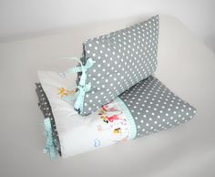 Cotton bedlinen for kids. Designed and made by Pracownia Lollipop. https://www.facebook.com/PALollipop