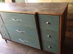 Repurposed Gems: Retro Refinished Dresser