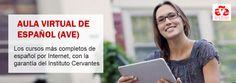 Aula Virtual de Español - AVE (abre en ventana nueva)
