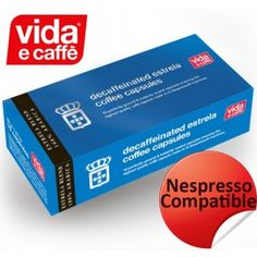 vida e caffe Decaffe (Nespresso Compatible Capsules ) Espresso Shop, Best Espresso, Nespresso, Arabica Coffee Beans, Shops, Pure Products, Life, Tents, Retail