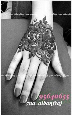 Palm Henna Designs, Pretty Henna Designs, Indian Henna Designs, Henna Tattoo Designs Simple, Finger Henna Designs, Stylish Mehndi Designs, Mehndi Designs 2018, Mehndi Designs For Beginners, Mehndi Designs For Girls