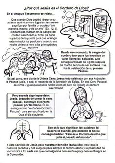 Cordero de Dios Bible Games, Bible Activities, Class Activities, Educational Activities, Religion Catolica, Catholic Kids, Bible Lessons For Kids, Religious Education, Sunday School Crafts