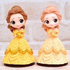 Personagens Disney Q posket A Bela E A Fera Belle Figure Banpresto