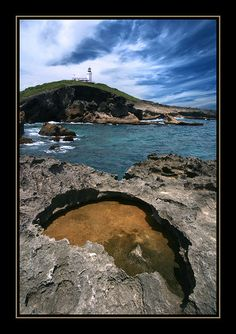 The lighthouse in Arecibo, Puerto Rico where my grams grew up. Her dad was the lighthouse keeper. <3