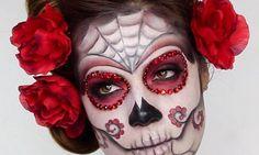 Sugar Skull zu Halloween