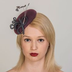 Buy designer UK made fascinators, fascinator hats and hatinators in colours to suit all outfits. How To Make Fascinators, Wedding Fascinators, Hair Fascinators, Purple Fascinator, Fascinator Hats, Fascinator Hairstyles, Felt Hat, Color Swatches, Shades Of Purple
