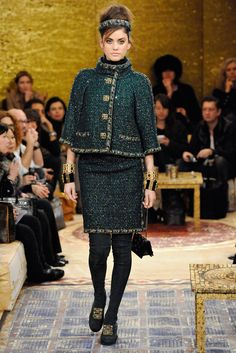 Chanel pre fall 2011 collection. See more: #ChanelAtFip, #FashionInPics