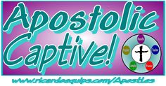 """Apostolic Captive By Apostle Ricardo Butler  What I mean by """"Apostolic Captive"""" is a person who was once a captive and a prisoner of war by satan and the kingdom of darkness through the world…"""