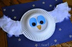 the little white owl  Best Owl Crafts for All
