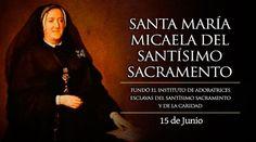 Hoy es fiesta de Santa María Micaela, quien rescató a muchas mujeres de la prostitución