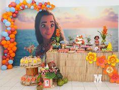 Festa Moana... Adorei as cores! By @elainesoaresdecoracoes. Se você gostou, comente!   Fotografia @pauladebortoli