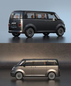 Early Volkswagen buses are kind of a big deal. The older they get, the more rare and valuable they become—a group of fanatics even airlifted a rusted-out 1954 model from a forest one time—and this redesign concept of the T1 pays good homage to the original.