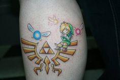 hylian crest tattoo - Google Search