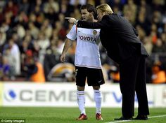 Juan Mata was given his La Liga debut by current Saints boss Koeman during their time together at Valencia