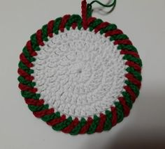 8월의 크리스마스 코스터 : 네이버 블로그 Crochet Earrings, Holiday, Holiday Crochet, Tejidos, Xmas, Vacations, Holidays, Vacation