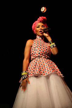 ♥Mafikizolo's Nhlanhla Nciza. Fierce.