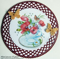 LOTV - Teacup of Poppies by Marianne Fisher