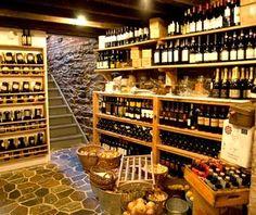 Gottino Wine cellar basement. I was thinking...Wine, potatoes, onions- Root Cellar!