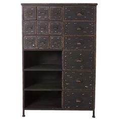 Rainer Metal Cabinet...for future art room (supply storage)