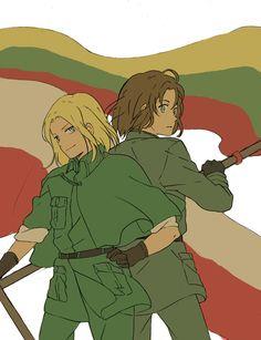 Hetalia- Poland and Lithuania