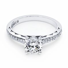 Tacori Sculpted Crescent Engagement Ring!