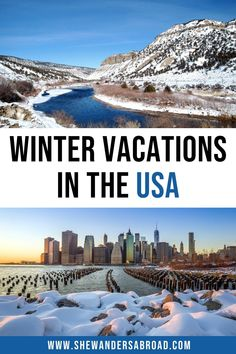 Best Christmas Vacations, Best Winter Vacations, Winter Getaways, Christmas Getaways, Christmas Destinations, Winter Destinations, Vacation Destinations, Vacation Spots, Vacation Ideas