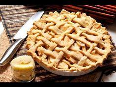 Pay de manzana. Este delicioso pay de manzana se sirve como postre o merienda. Se puede servir frío o caliente y acompañado de una bola de helado de vainilla.